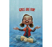 Girls are Fun! Photographic Print