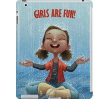 Girls are Fun! iPad Case/Skin