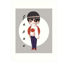 APH Japan - Flag Sweater Art Print