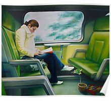 Green Train, oil on canvas, 2006. Poster