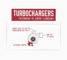 How Turbochargers work: by Jeremy Clarkson (red version) Kids Clothes