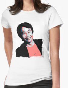 Shigeru Miyamoto Womens Fitted T-Shirt