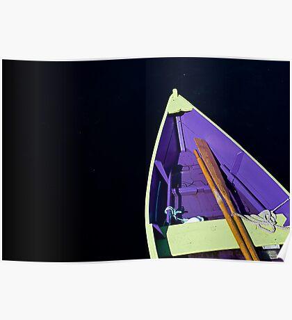 Boat in Lunenburg - Nova Scotia Poster