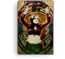 Sweet Art Thou - Nouveau Vintage Angela Bond Canvas Print