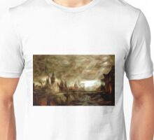 The End of Days Oil Painting Unisex T-Shirt
