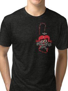 Stitched Woman Tri-blend T-Shirt