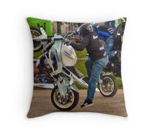Bike Stunt Trix_6 Throw Pillow