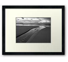 Stream of Silver Framed Print