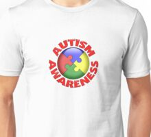 Autism awareness puzzle ball Unisex T-Shirt