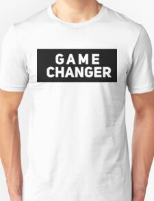 Game Changer [The Game Done Changed] | Black Ink T-Shirt