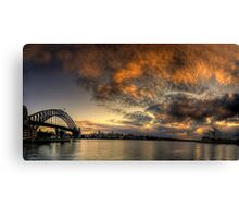Morning Aria - SydneyHarbour,Sydney Australia - The HDR Experience Canvas Print