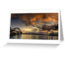 Morning Aria - SydneyHarbour,Sydney Australia - The HDR Experience Greeting Card