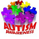 Autism awareness 3d Puzzle by bmgdesigns