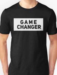 Game Changer [The Game Done Changed] | White Ink T-Shirt