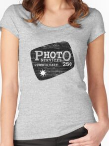 pHOTo Services - Quick 'n' Easy Women's Fitted Scoop T-Shirt
