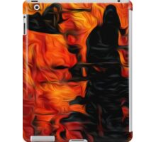 Abstract Colors Oil Painting #47 iPad Case/Skin