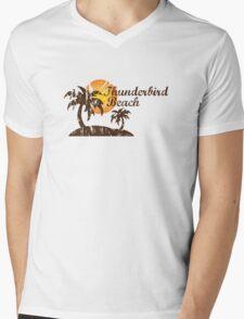 Thunderbird Beach Mens V-Neck T-Shirt