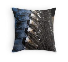 Water steams Throw Pillow
