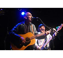 Paul Kelly and the Large Number 12s Photographic Print