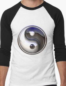 Yin yang design Men's Baseball ¾ T-Shirt