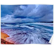 Surreal - North Narrabeen Beach Poster