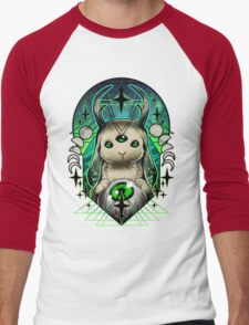 Space Bunny  Men's Baseball ¾ T-Shirt