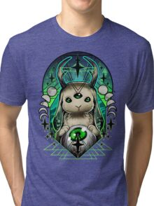 Space Bunny  Tri-blend T-Shirt
