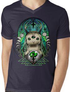Space Bunny  Mens V-Neck T-Shirt