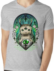Space Bunny  Mens V-Neck T-Shirt