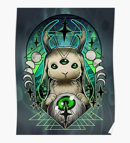Space Bunny  Poster
