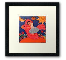 Frida's Flight Framed Print