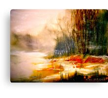 The First Warmth.. Canvas Print