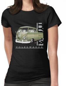 Double Cab Pickup Womens Fitted T-Shirt