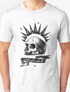 Misfit Skull White T-Shirt