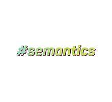 #semantics by erbeining