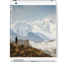 Looking at the Himalayas iPad Case/Skin