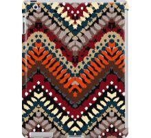 Bohemian print with chevron pattern in autumn colors iPad Case/Skin