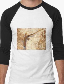 Lizard and matching bark Men's Baseball ¾ T-Shirt