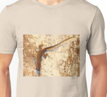Lizard and matching bark Unisex T-Shirt