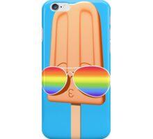 Rainbow Vision - Orange Popsicle iPhone Case/Skin