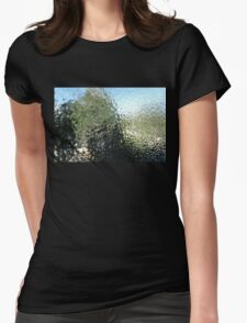 Steamy window Womens Fitted T-Shirt