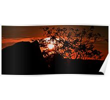 Shepherd's Delight, Red Sky at Night Poster
