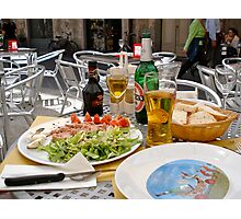 Italian feast Photographic Print