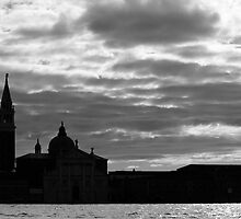 Clouds over Venice by Giulio Bernardi