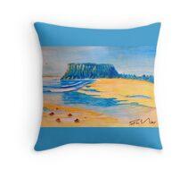 The Nut Stanley Tasmania (water colour) Throw Pillow