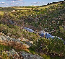 Reedy Creek, Mannum Falls by KathyT