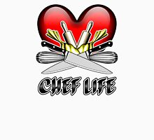 Heart Chef Life Unisex T-Shirt