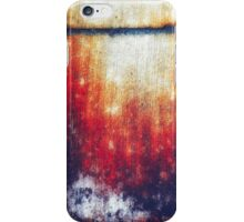 The cabin in the red woods iPhone Case/Skin