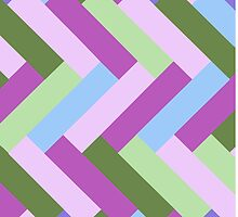 Purple and Green Rectangles by Greenbaby