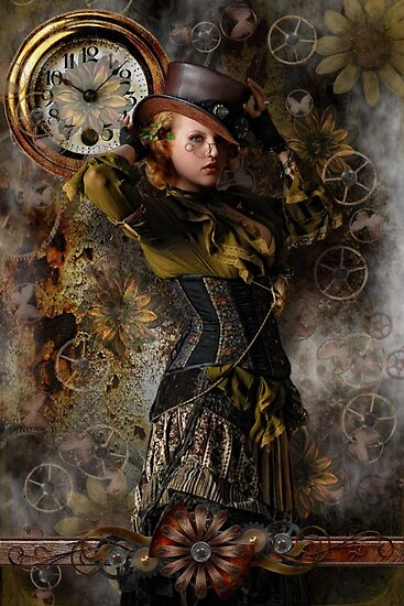 SteamPunkFemme by dovey1968